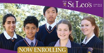 Final Enrolments – Year 7 2022 & limited Year 10 & 11 places
